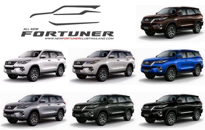 2017 New Toyota Fortuner Philippines